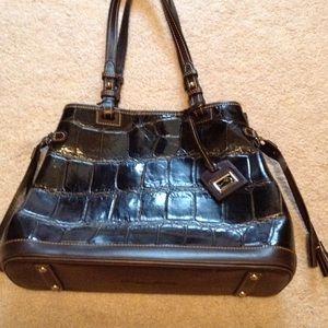 Dooney & Bourke Crocodile Embossed Bag